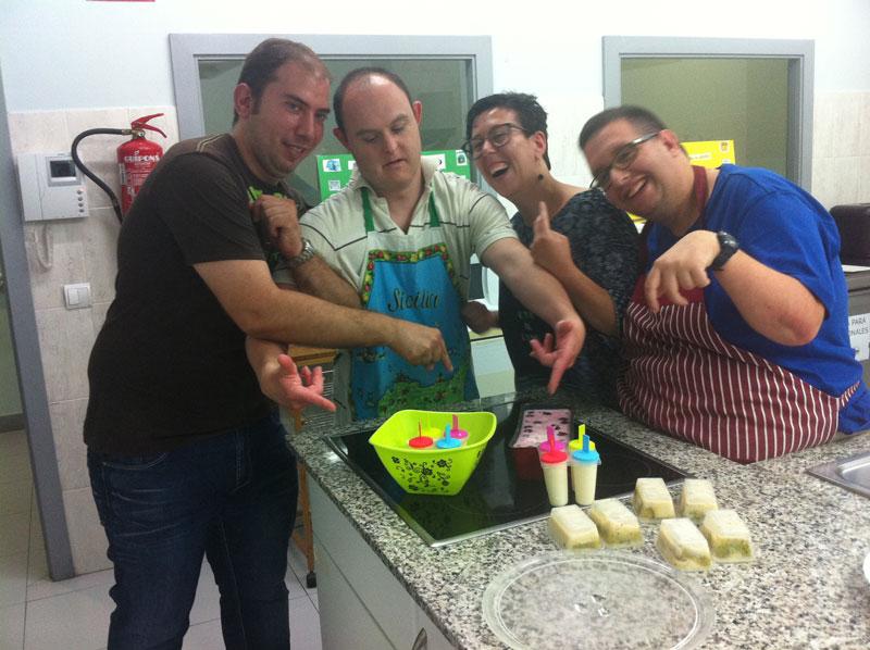 Actividad curso de cocina de Fent Marxa