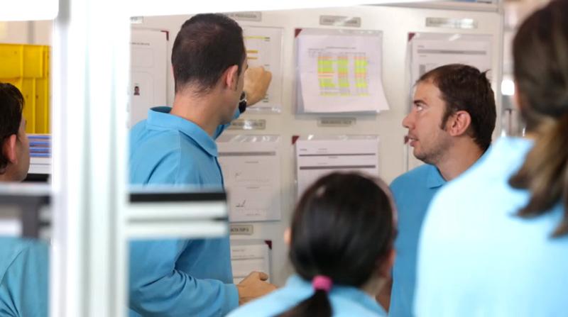 Organización en planta con el método Lean Manufacturing en CEEME